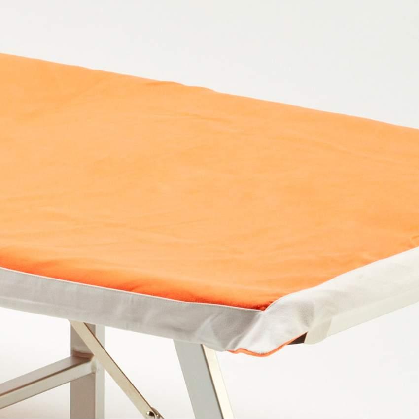 Telo mare microfibra lettino colorato tasche asciugamano spiaggia - dettaglio