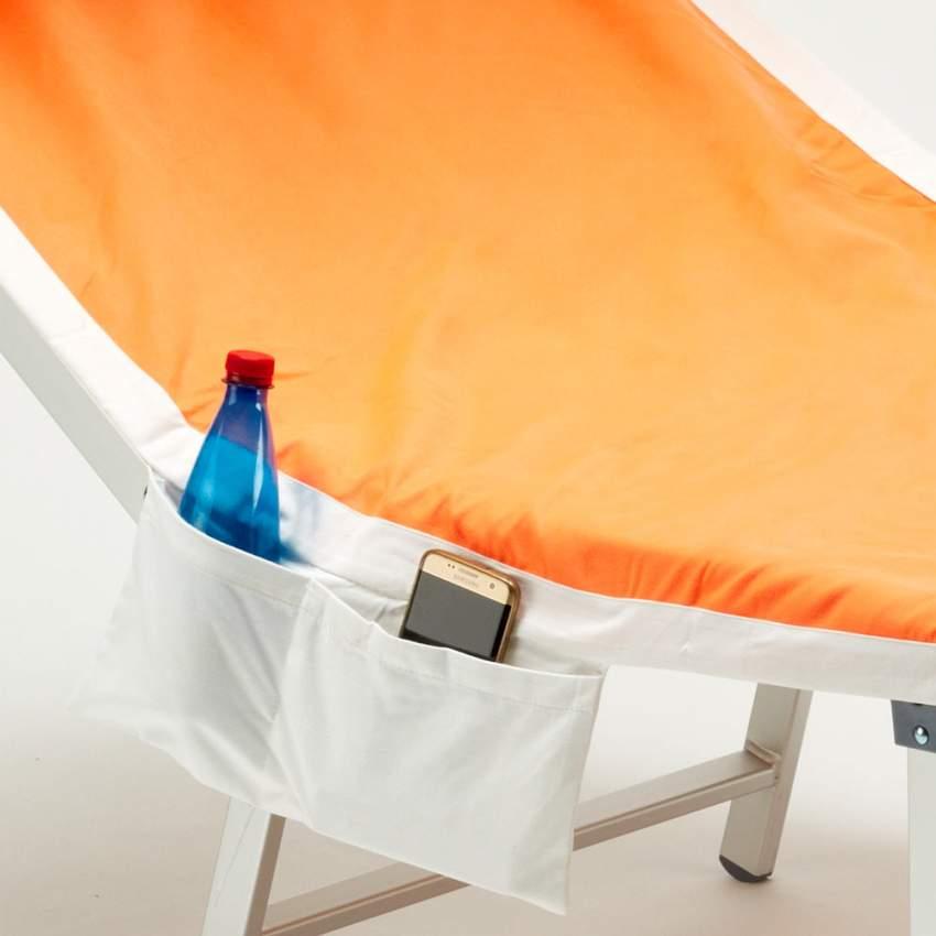 Telo mare microfibra lettino colorato tasche asciugamano spiaggia - migliore