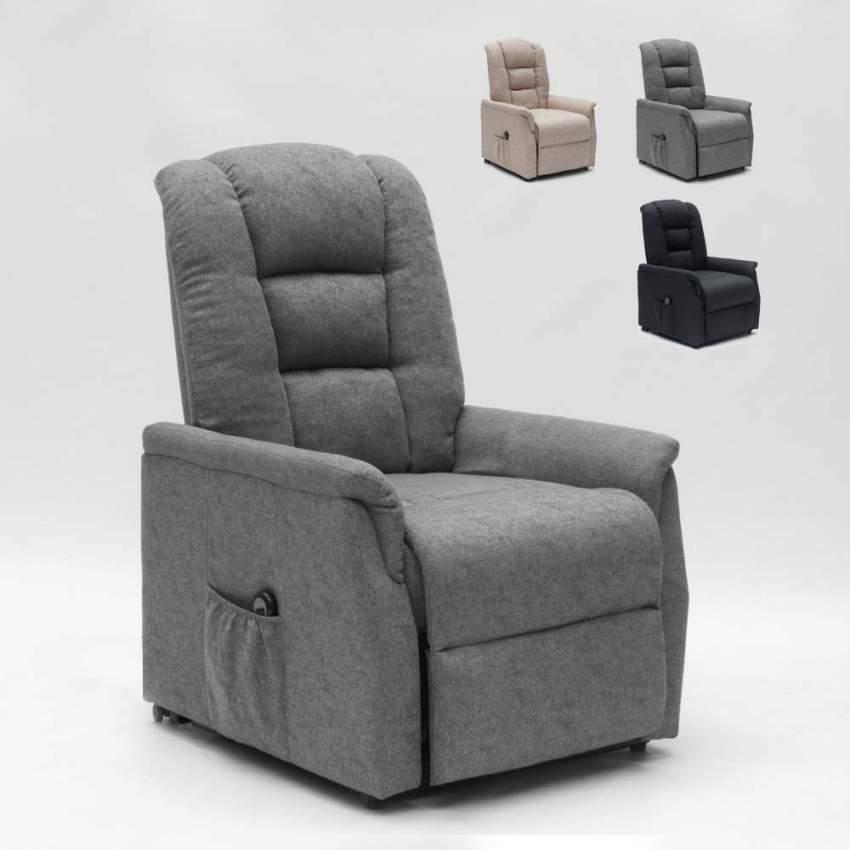 elektrisches relaxsessel mit hinterr dern und aufstehhilfe. Black Bedroom Furniture Sets. Home Design Ideas