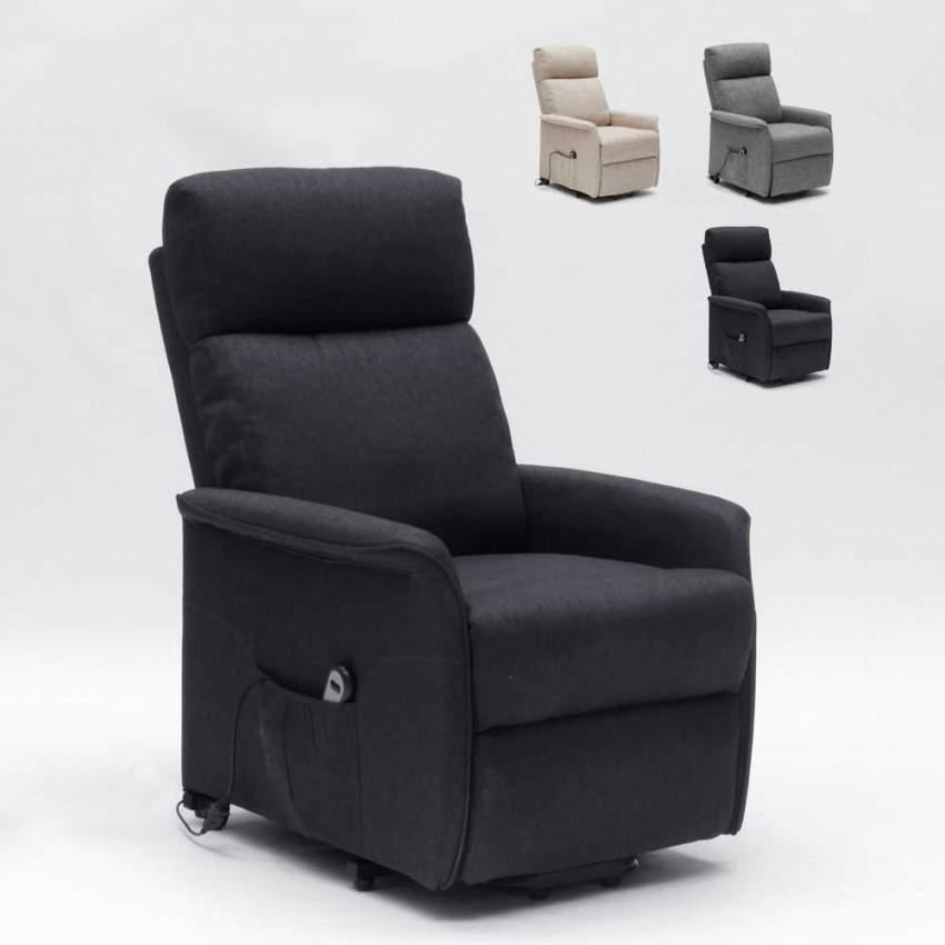 Poltrone Relax Anziani.Poltrona Relax Elettrica Con Sistema Alzapersona E Ruote Per Anziani Giorgia