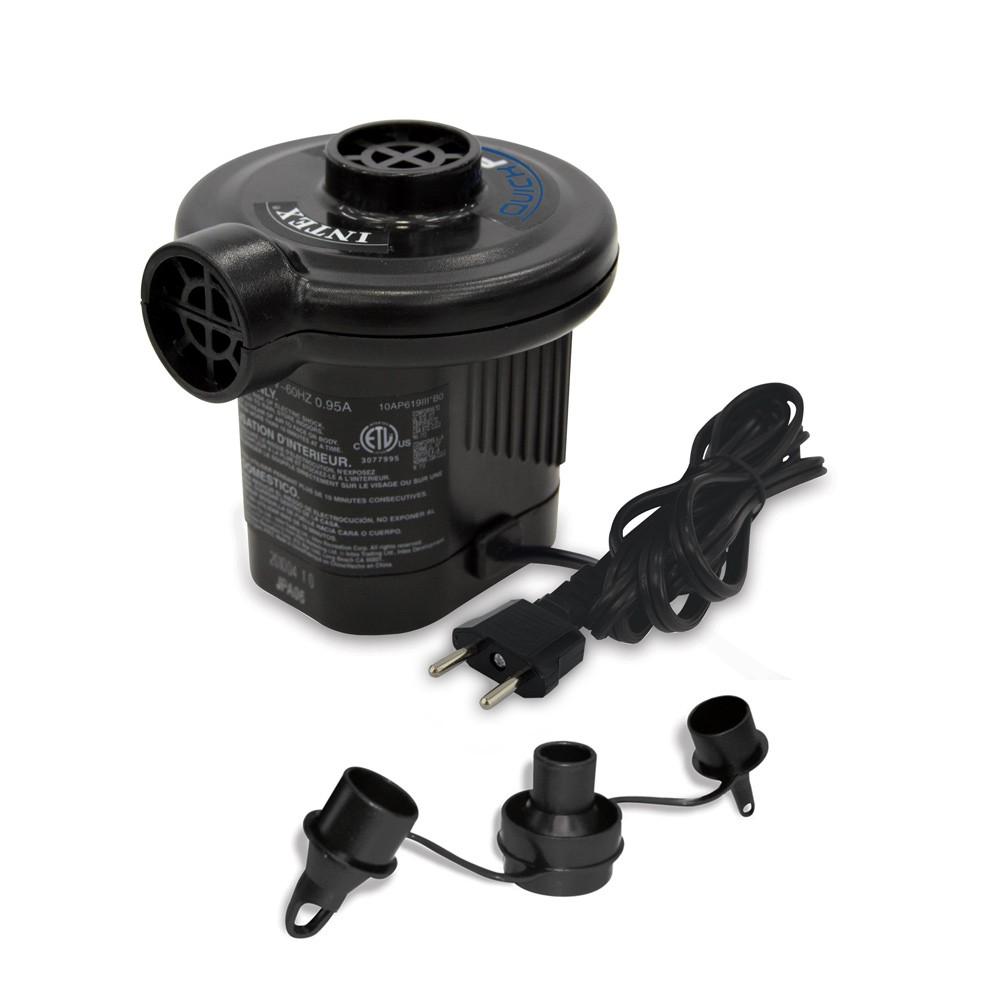 Pompa elettrica gonfiaggio prodotti Intex 66620 I.6 Quickfill presa corrente - details