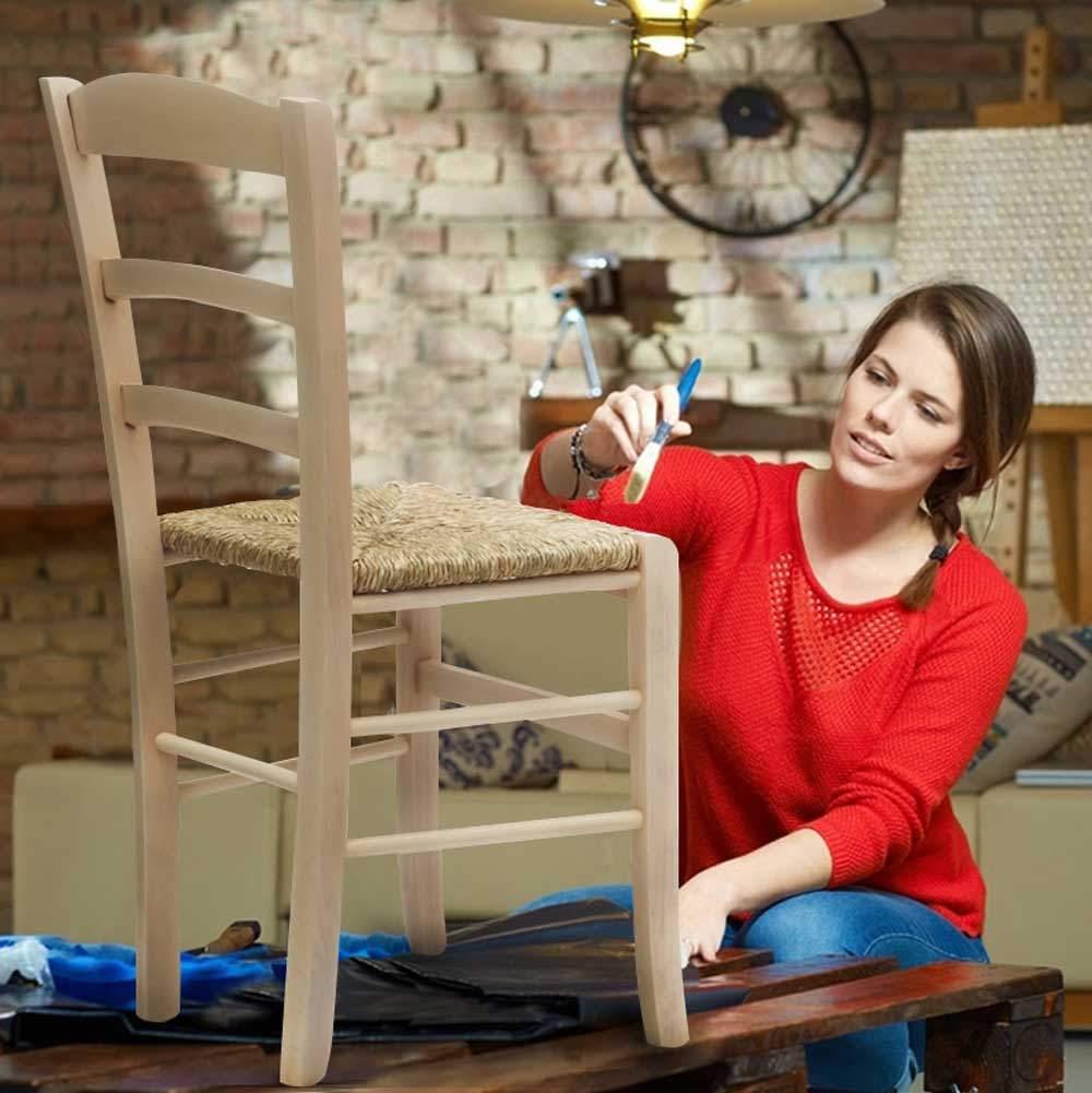 Sedia-in-legno-e-seduta-impagliata-per-cucina-bar-e-trattoria-rustica-PAESANA miniatura 17