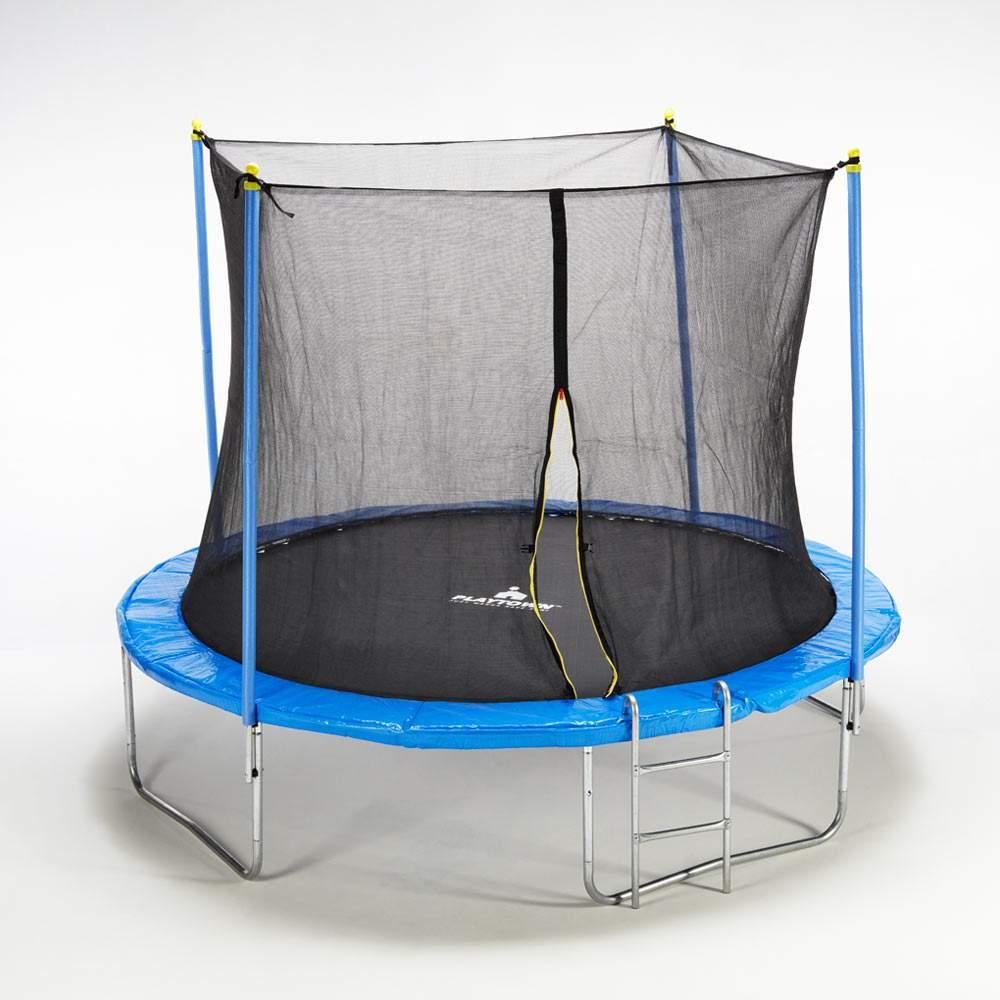 Trampolino Tappeto Elastico 305cm Rete e Imbottiture di sicurezza Kangaroo L - Bild