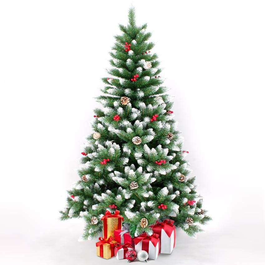 Alberi Di Natale Addobbati Foto.Oslo Albero Di Natale Artificiale 240 Cm Addobbato Con Decorazioni
