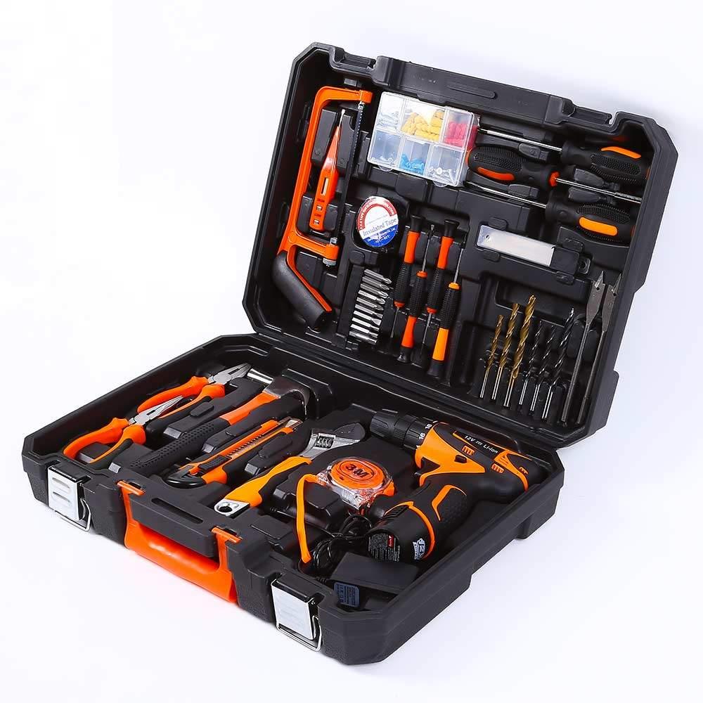 Valigetta attrezzi e utensili da lavoro con avvitatore 345 pezzi SMART-EXTRA - promo