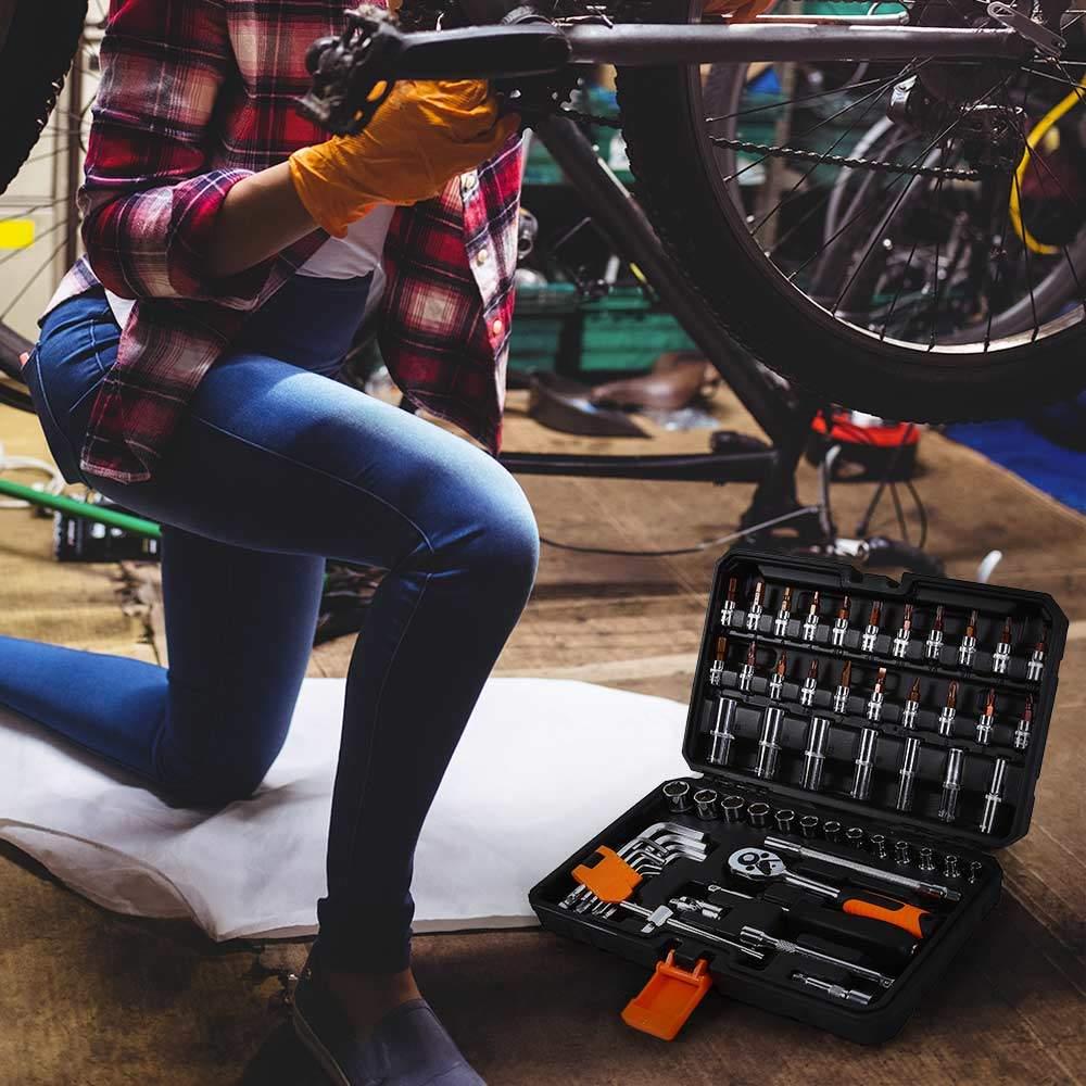 valigetta set chiavi bussola cricchetto HX 99 pezzi