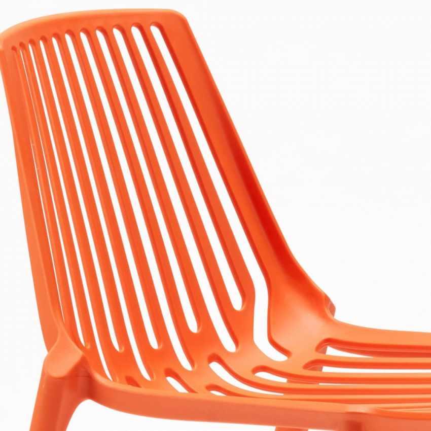 20 Stühle Gartenstühle Terrasse Küchenstuhl LINE - indoor