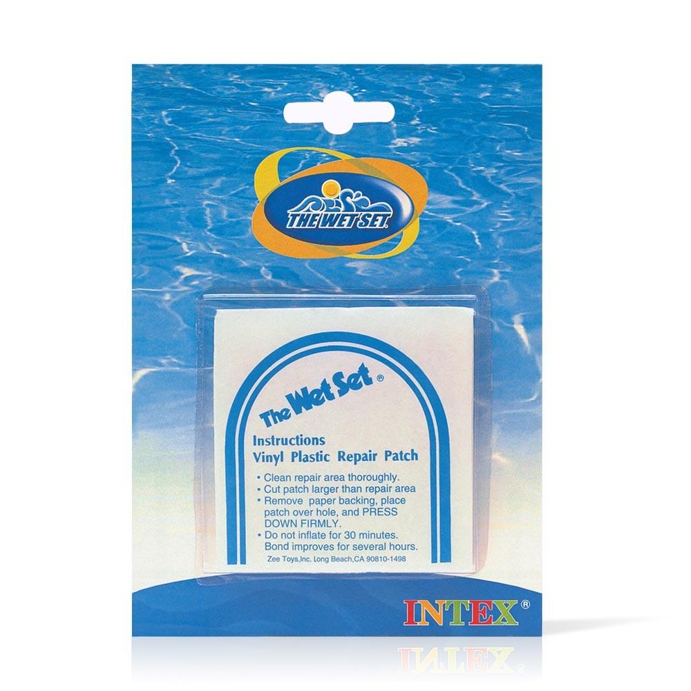 Intex 59631 6 toppe in PVC per riparazione gonfiabili