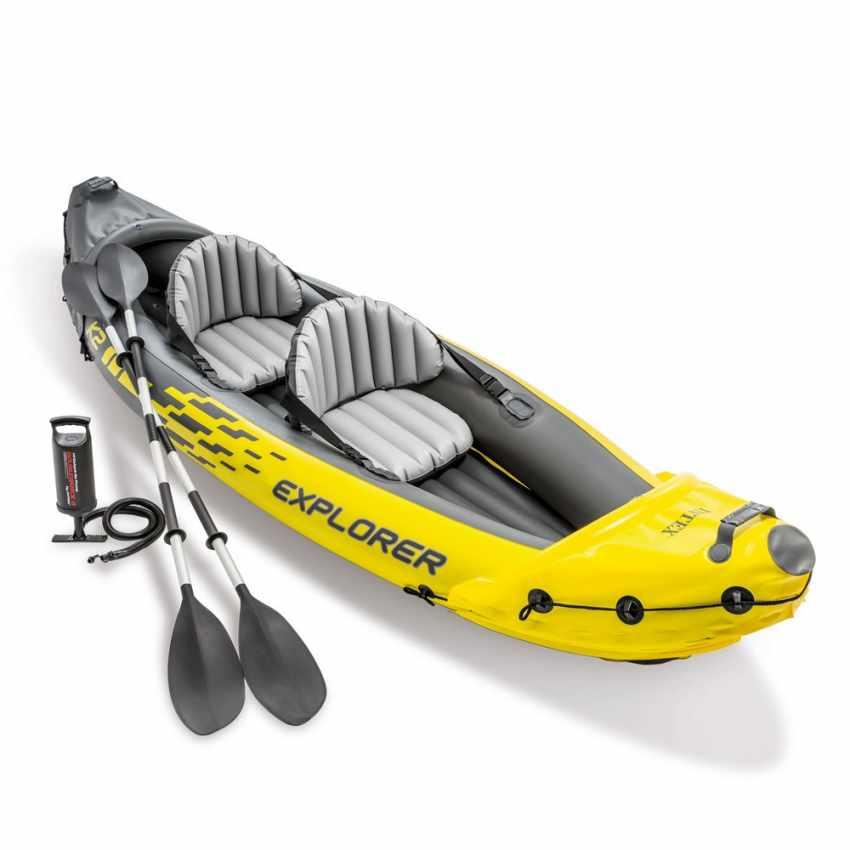 Canoa Kayak Gonfiabile Intex Explorer K2 68307 - scontato