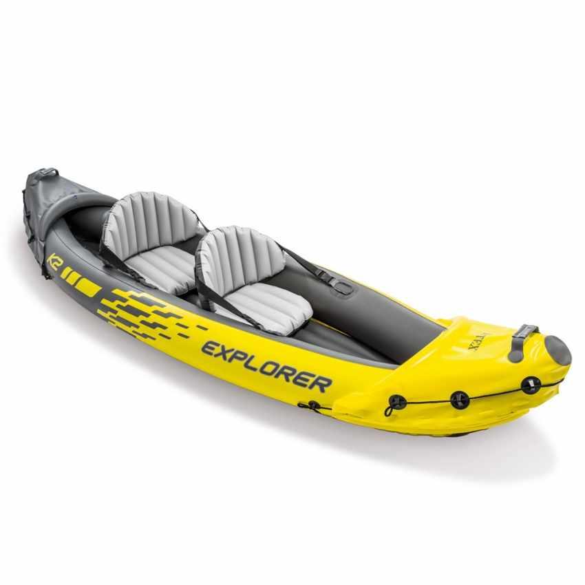 Canoa Kayak Gonfiabile Intex Explorer K2 68307 - arredamento