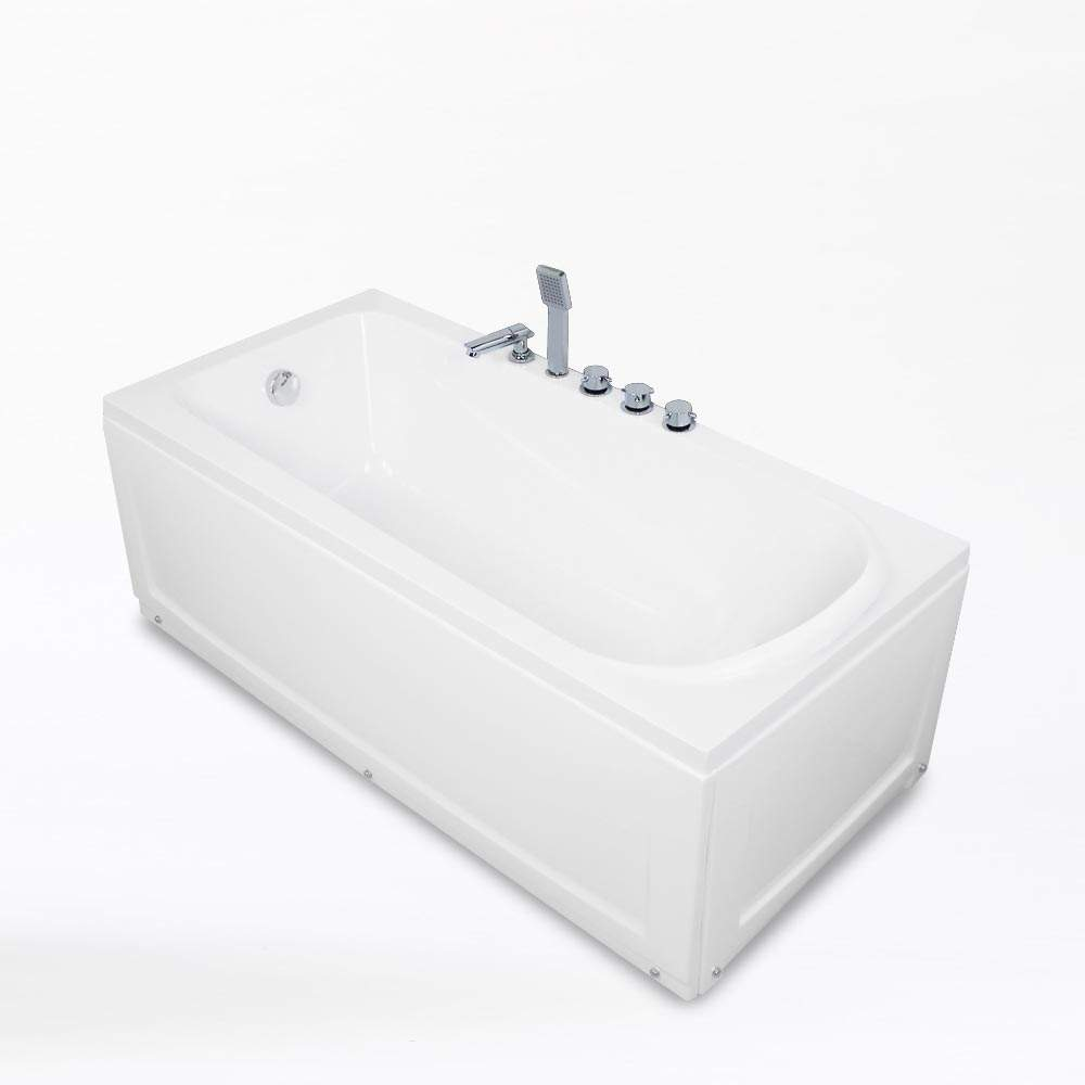 Baignoire-Encastrable-en-Acrylique-Fiberglass-Design-OZONE miniature 9