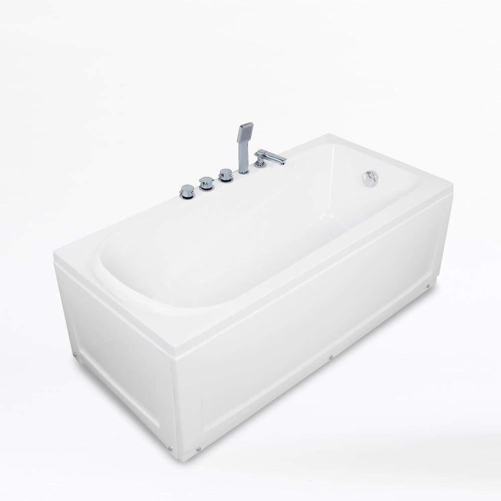 Baignoire-Encastrable-en-Acrylique-Fiberglass-Design-OZONE miniature 13