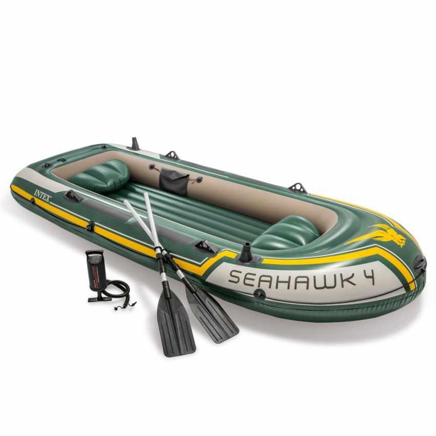 Canotto Seahawk Gonfiabile 4 Intex 68351 Gommone kZwOPlXuiT