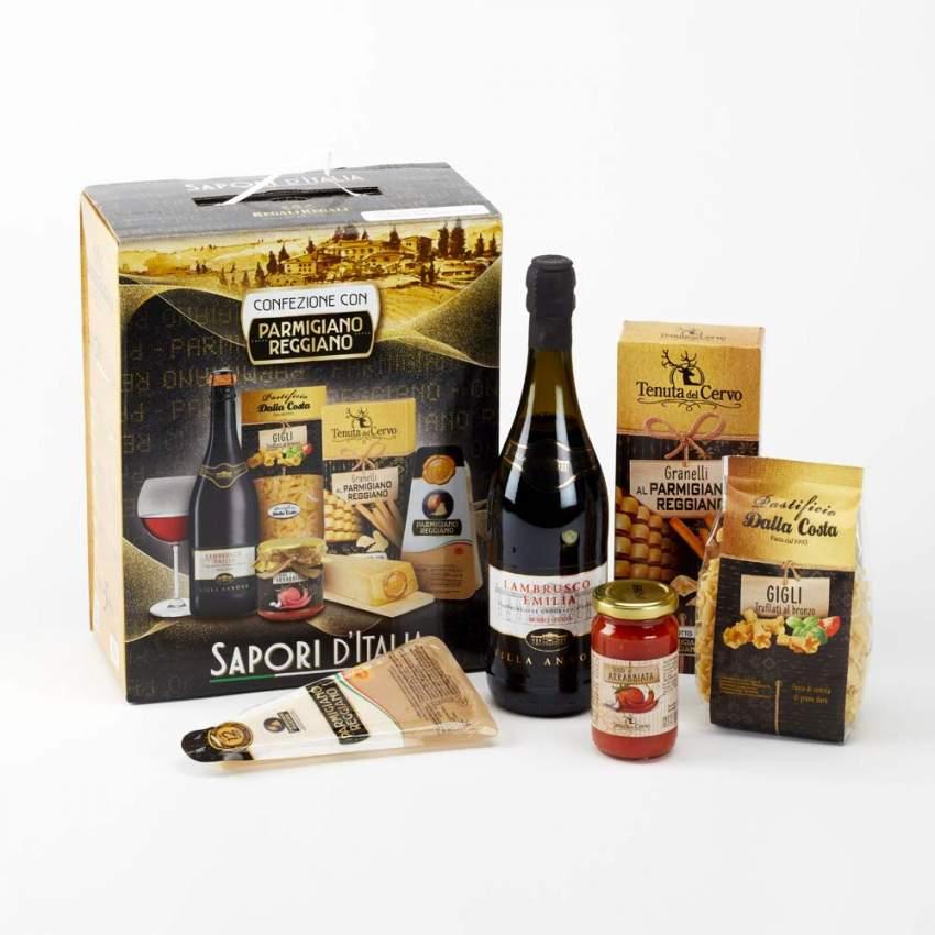 Italian Taste Cesto Pacco Regalo Di Natale Per Aziende E Privati