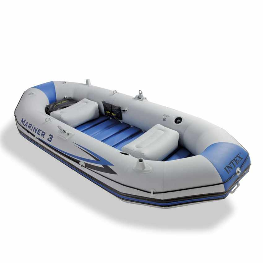 Canot gonflable Intex 68373 Mariner 3 bateau Gonflable - photo