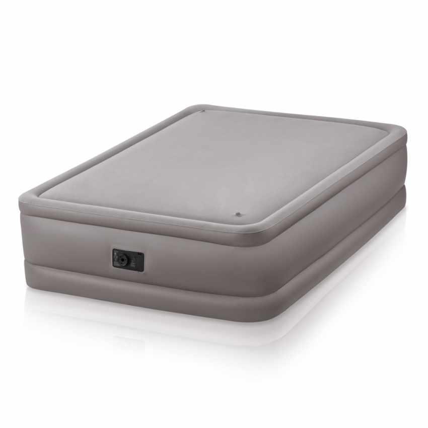 intex 64468 matelas gonflable lit double invit s 52x203x51. Black Bedroom Furniture Sets. Home Design Ideas