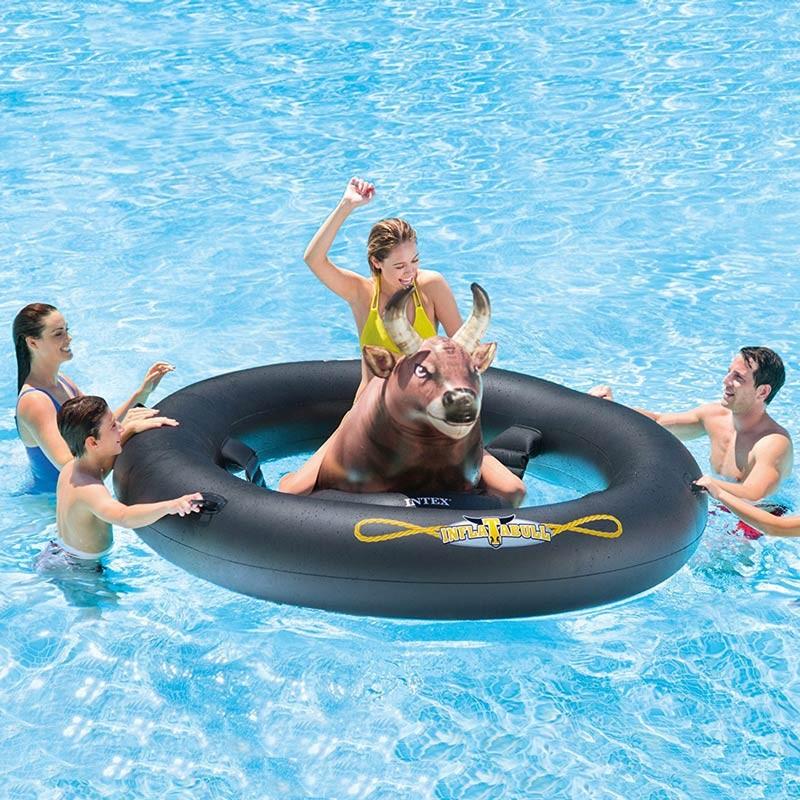 Toro rodeo meccanico Intex 56280 Inflatabull gonfiabile da piscina - Rabatt
