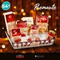 64 Cestas de Navidad Gourmet para empresas y particulares Café Pasta Cotechino PIEMONTE