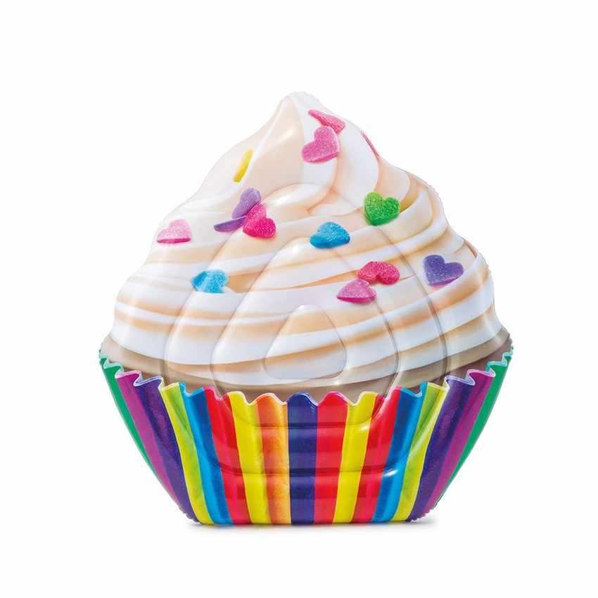 Materassino gonfiabile Intex 58770 Cupcake coppetta gelato per piscina - offert
