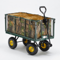 Garden trolley for transporting wood grass 400kg SHIRE - foto