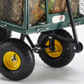 Garden trolley for transporting wood grass 400kg SHIRE - migliore