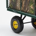 Garden trolley for transporting wood grass 400kg SHIRE - dettaglio