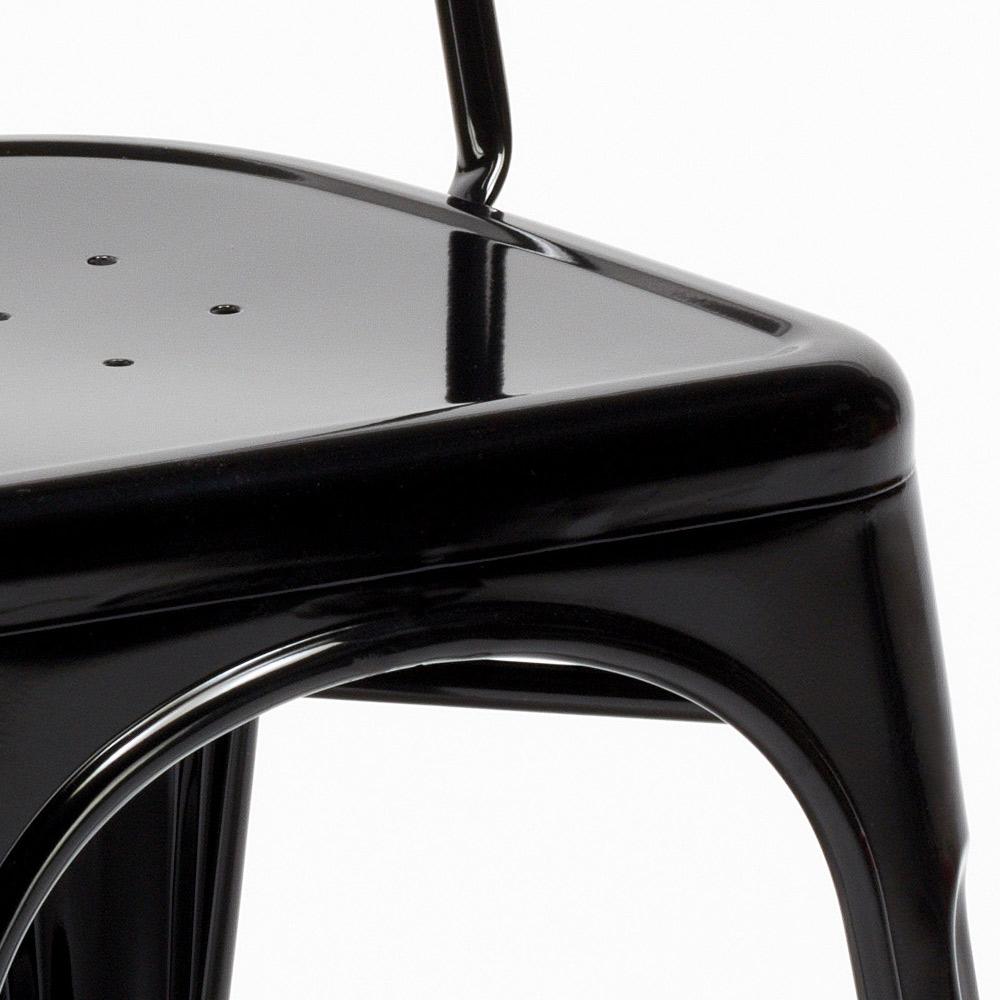 miniatura 15 - Sedie Tolix industrial metallo e acciaio per cucina e bar Steel One