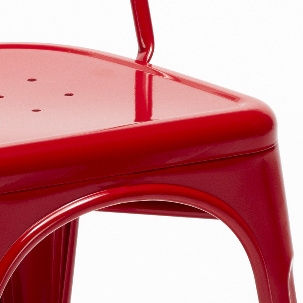 miniatura 29 - Sedie Tolix industrial metallo e acciaio per cucina e bar Steel One