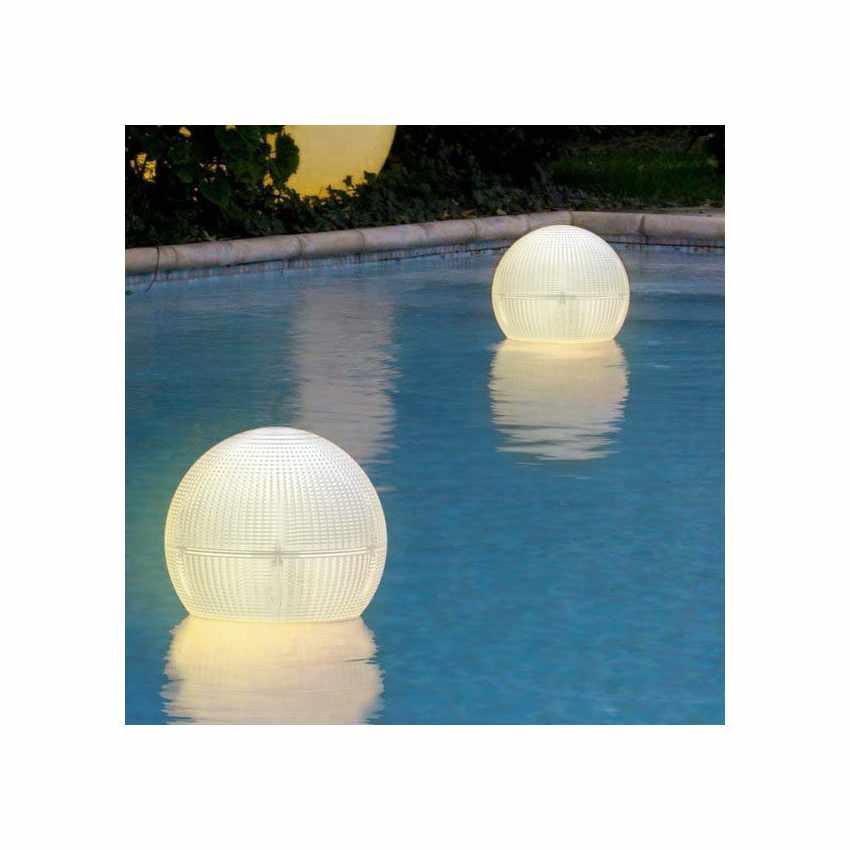 Lampioncino Solare a Led sferico lanterna galleggiante appendibile impermeabile GLOBE - best