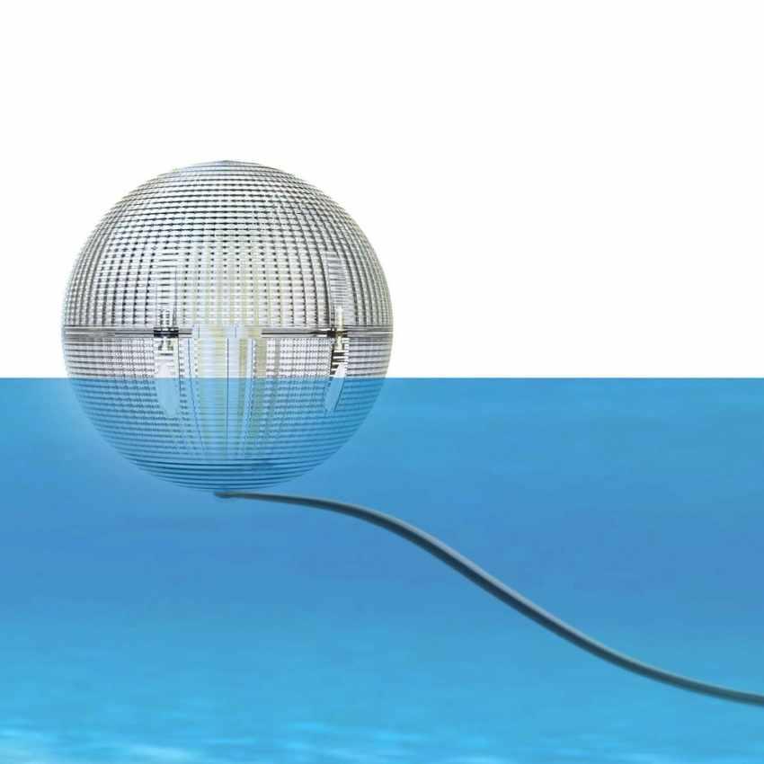 Lampioncino Solare a Led sferico lanterna galleggiante appendibile impermeabile GLOBE - discount