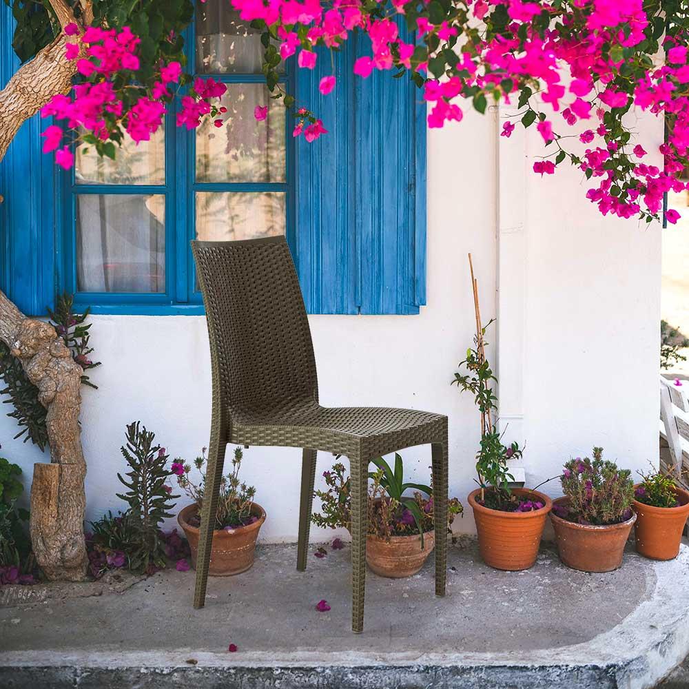 miniature 23 - Chaises de Jardin café bar empilable Bistrot Grand Soleil