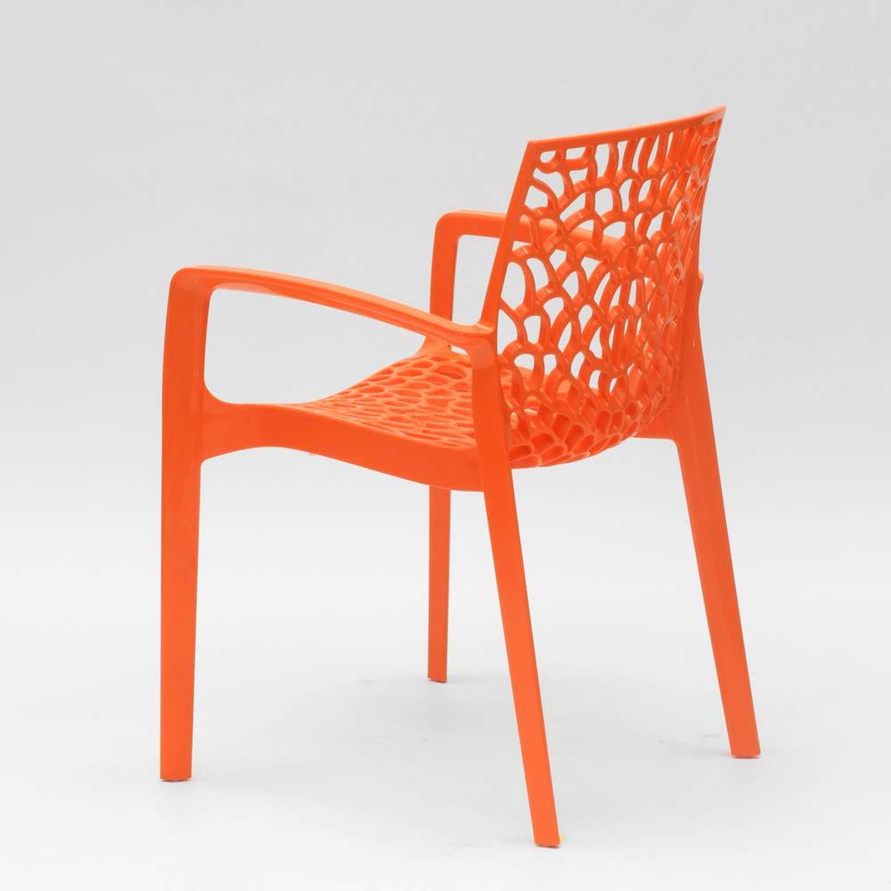 miniatuur 27 - Polypropyleen stoelen armleuningen tuin cafès Grand Soleil Gruvyer Arm