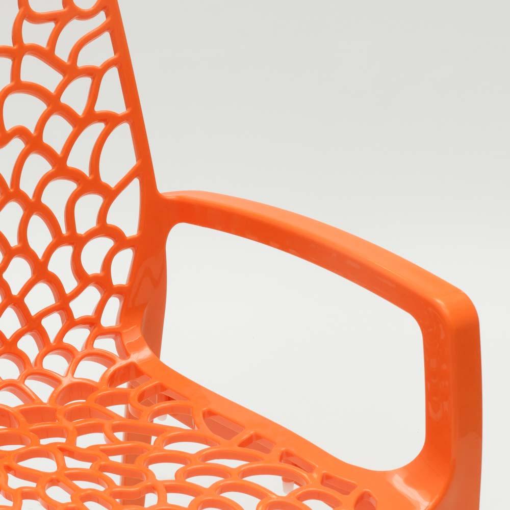 miniatuur 28 - Polypropyleen stoelen armleuningen tuin cafès Grand Soleil Gruvyer Arm