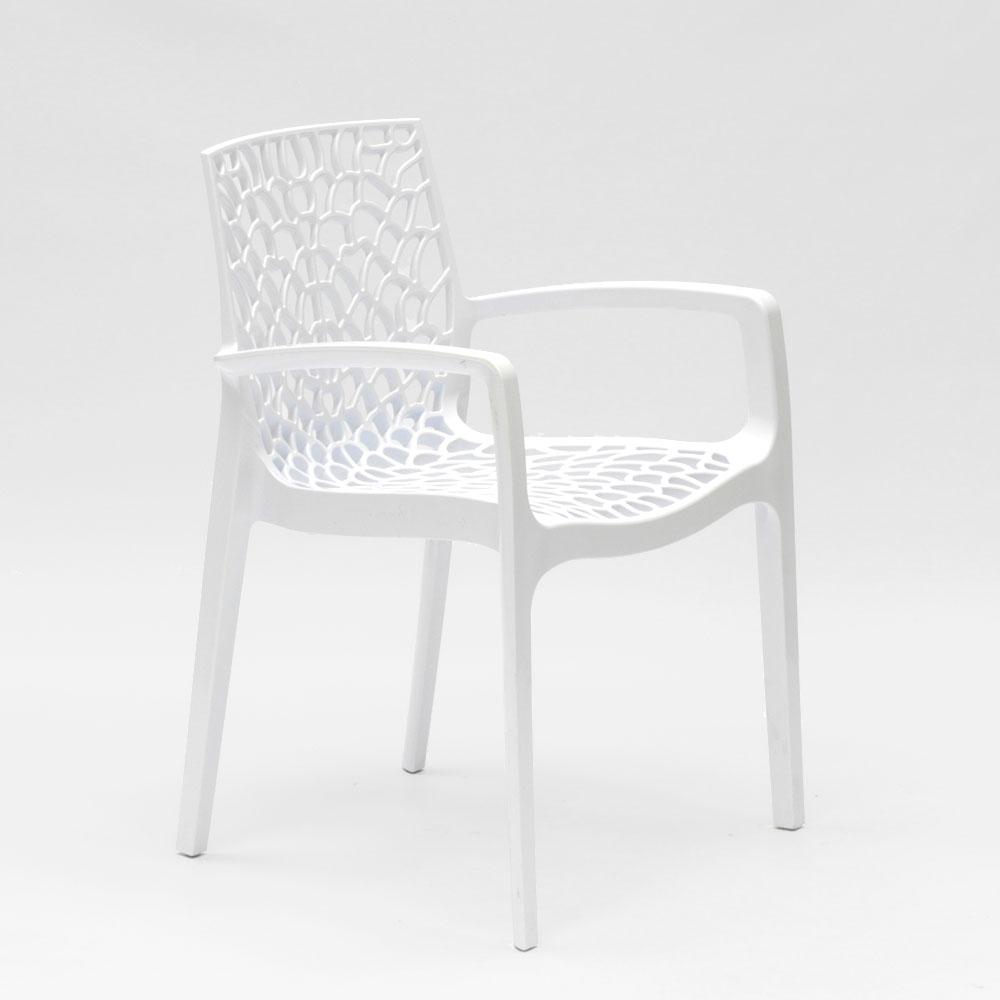 miniatuur 14 - Polypropyleen stoelen armleuningen tuin cafès Grand Soleil Gruvyer Arm