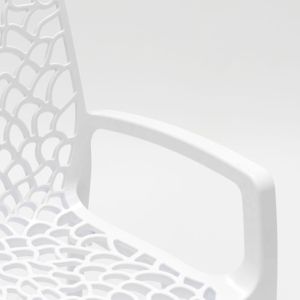 miniatuur 16 - Polypropyleen stoelen armleuningen tuin cafès Grand Soleil Gruvyer Arm