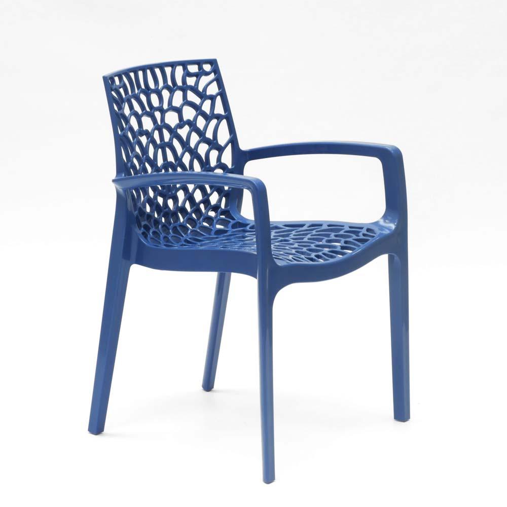 miniatuur 62 - Polypropyleen stoelen armleuningen tuin cafès Grand Soleil Gruvyer Arm