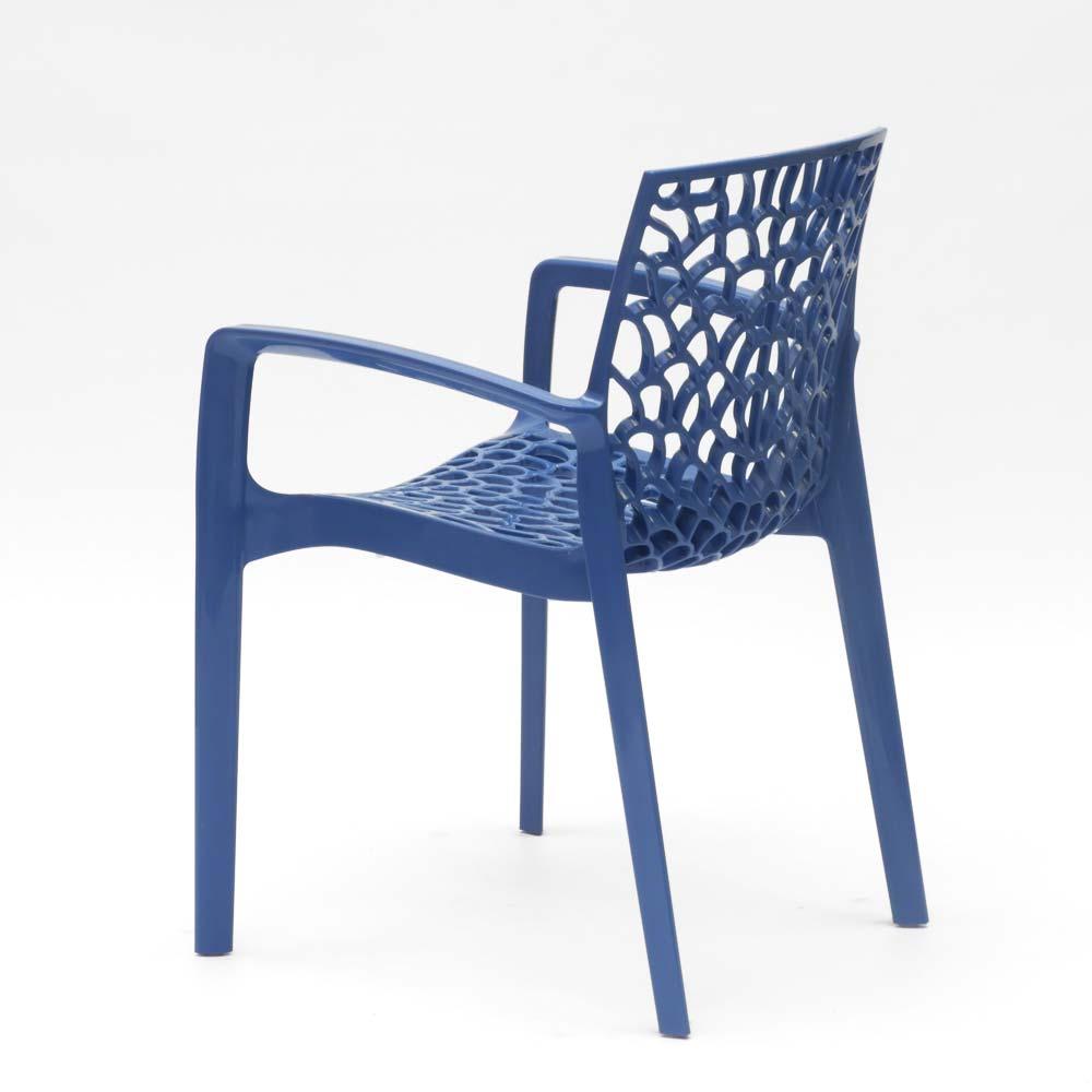 miniatuur 63 - Polypropyleen stoelen armleuningen tuin cafès Grand Soleil Gruvyer Arm