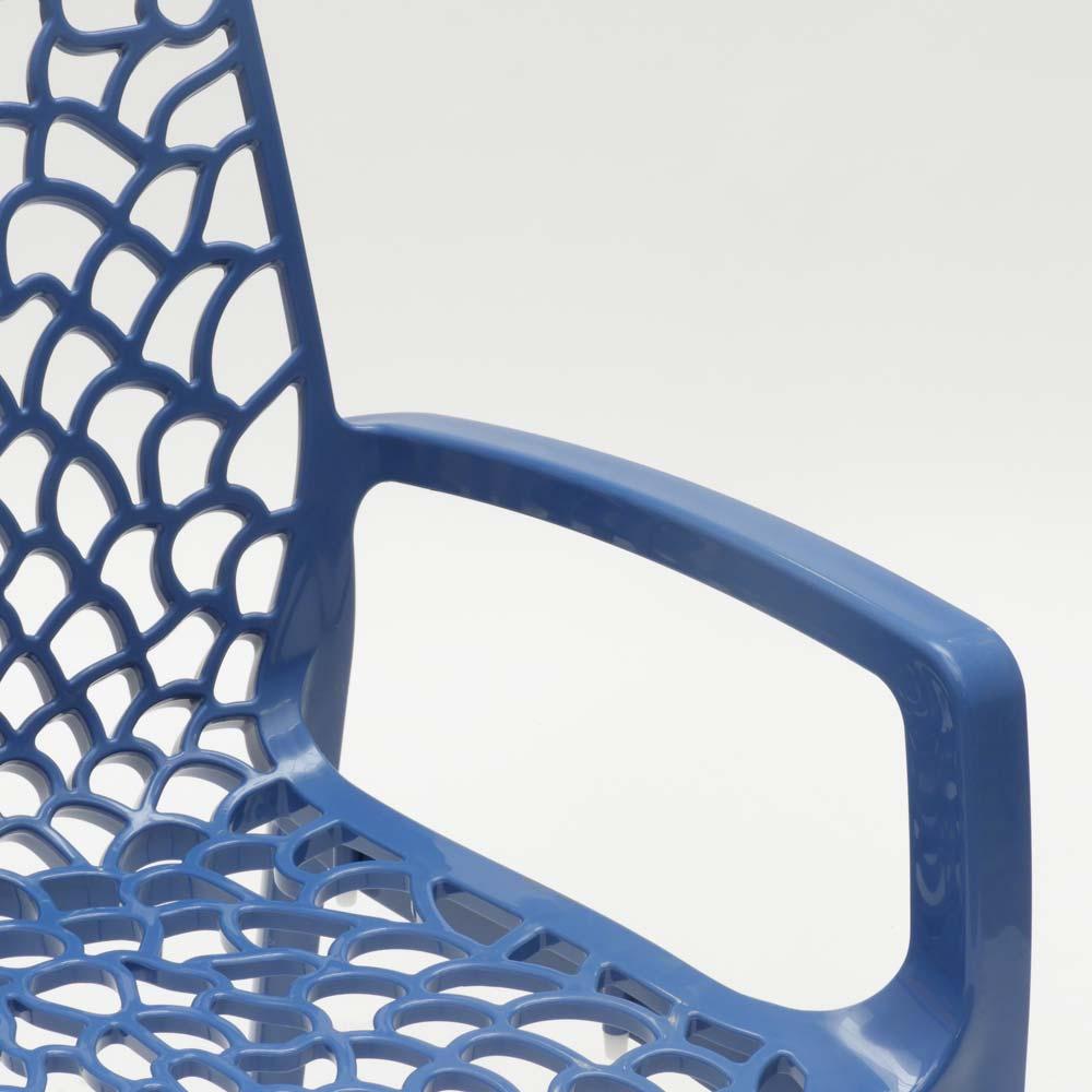 miniatuur 64 - Polypropyleen stoelen armleuningen tuin cafès Grand Soleil Gruvyer Arm