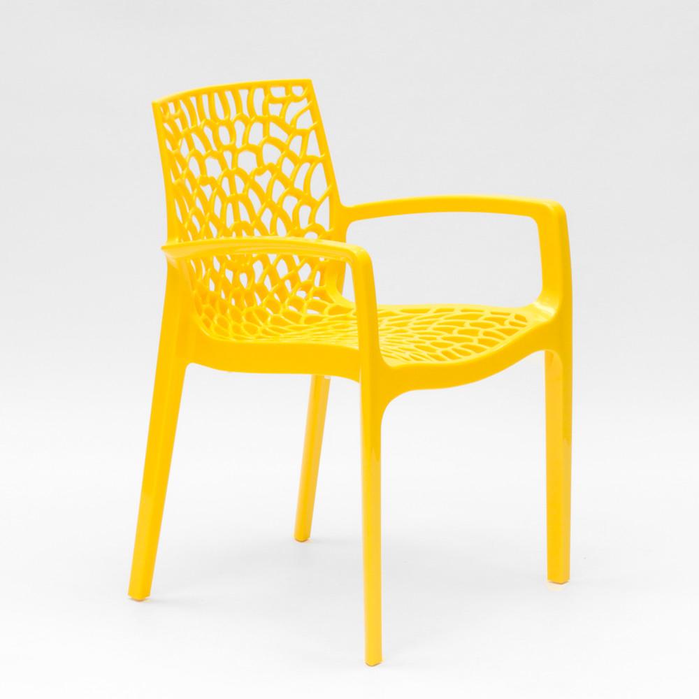 miniatuur 32 - Polypropyleen stoelen armleuningen tuin cafès Grand Soleil Gruvyer Arm