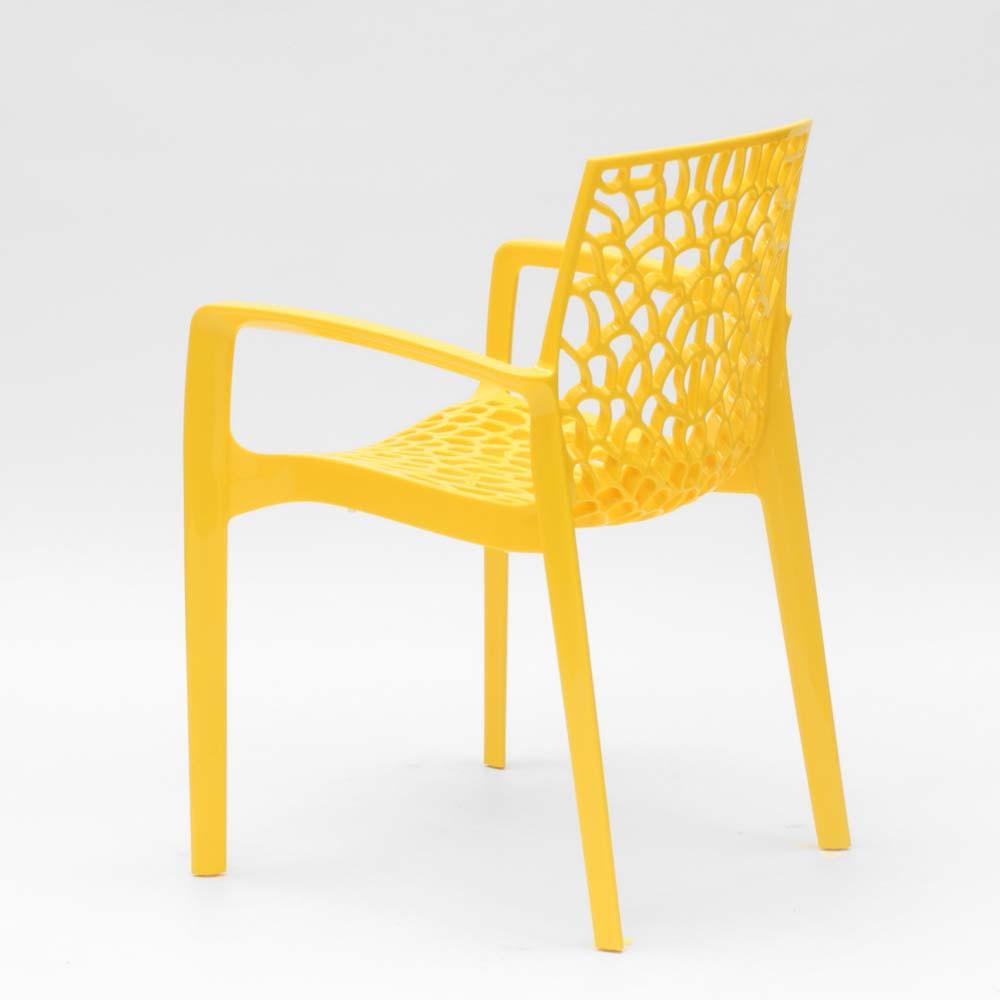 miniatuur 33 - Polypropyleen stoelen armleuningen tuin cafès Grand Soleil Gruvyer Arm