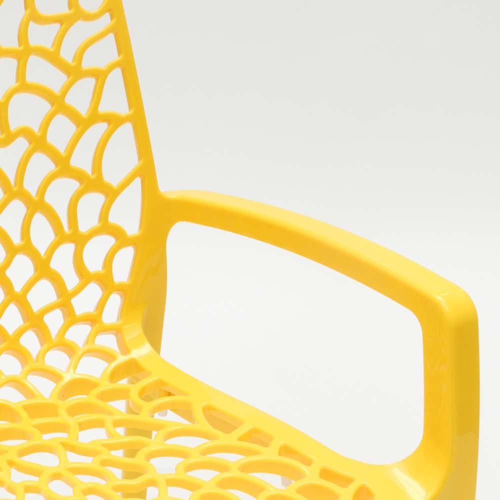 miniatuur 34 - Polypropyleen stoelen armleuningen tuin cafès Grand Soleil Gruvyer Arm