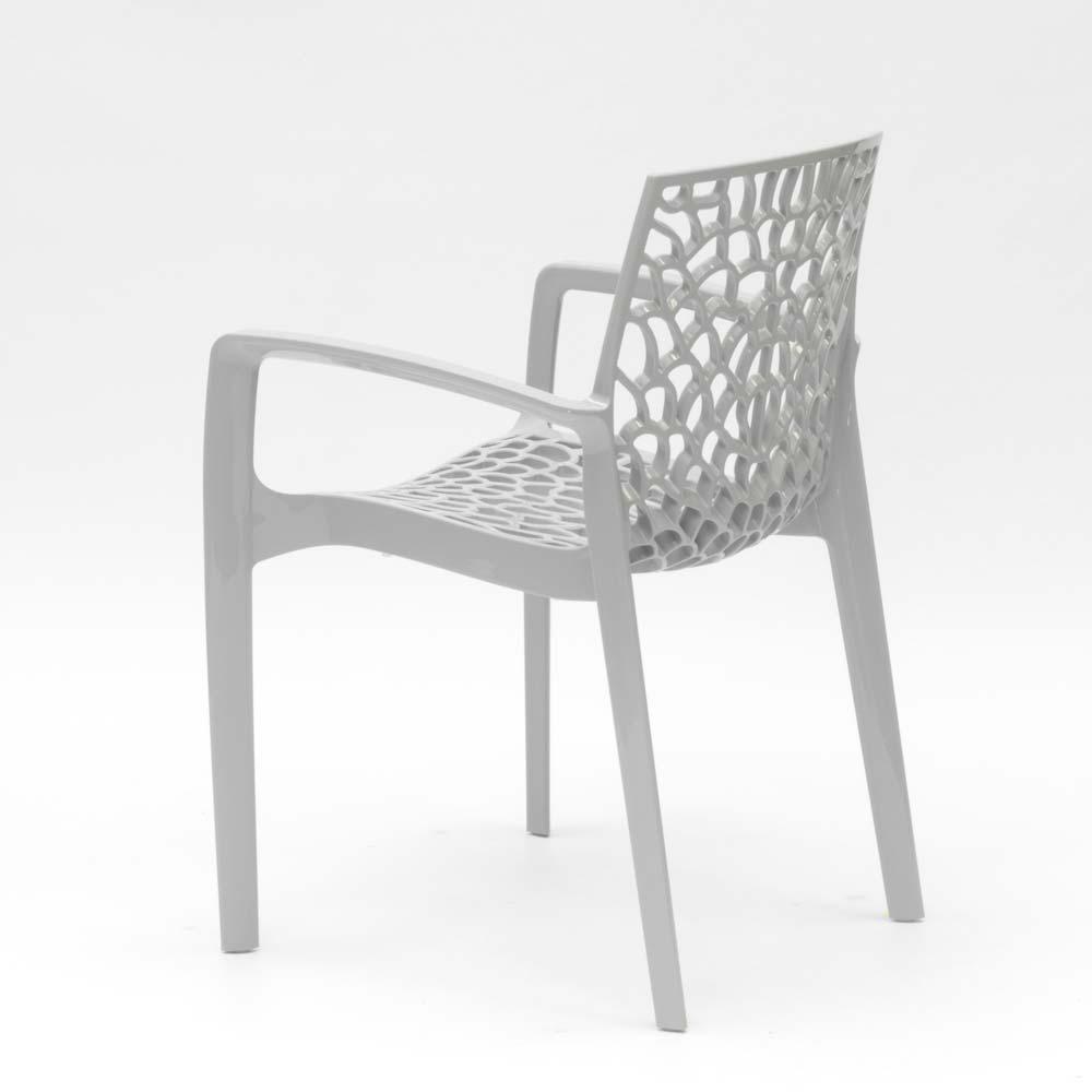 miniatuur 39 - Polypropyleen stoelen armleuningen tuin cafès Grand Soleil Gruvyer Arm