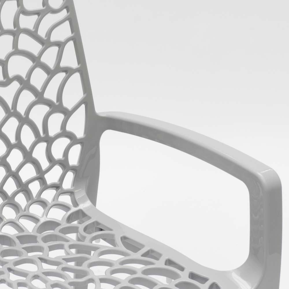 miniatuur 40 - Polypropyleen stoelen armleuningen tuin cafès Grand Soleil Gruvyer Arm