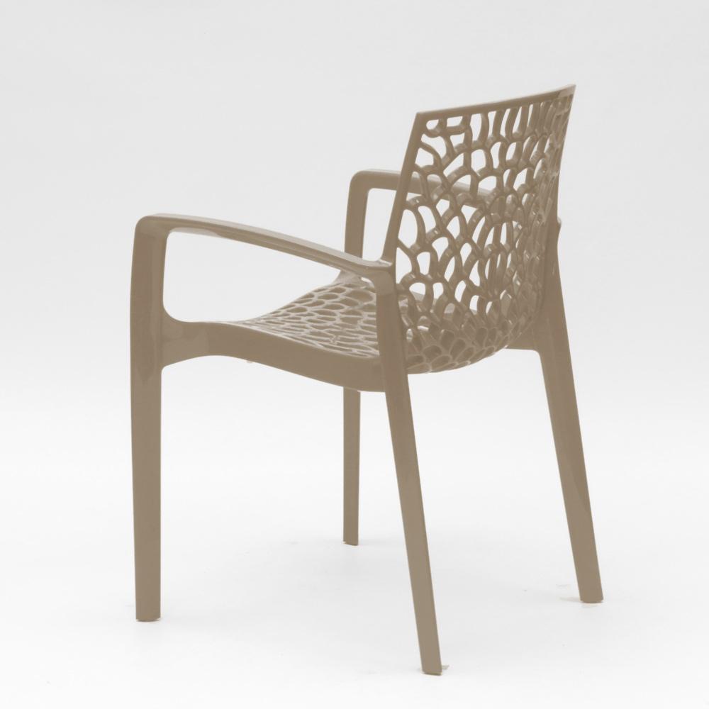 miniatuur 69 - Polypropyleen stoelen armleuningen tuin cafès Grand Soleil Gruvyer Arm