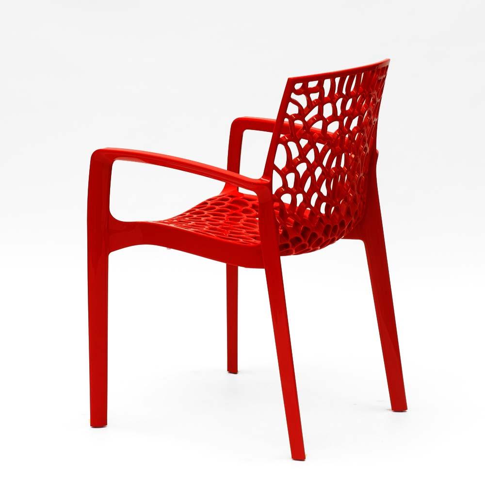 miniatuur 45 - Polypropyleen stoelen armleuningen tuin cafès Grand Soleil Gruvyer Arm