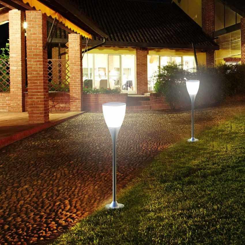 Gartenlampe Solarlampe LED Solarleuchte außen Garten SUNWAY - outdoor