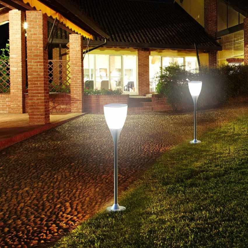 Lampione energia solare led giardino esterno SUNWAY - price