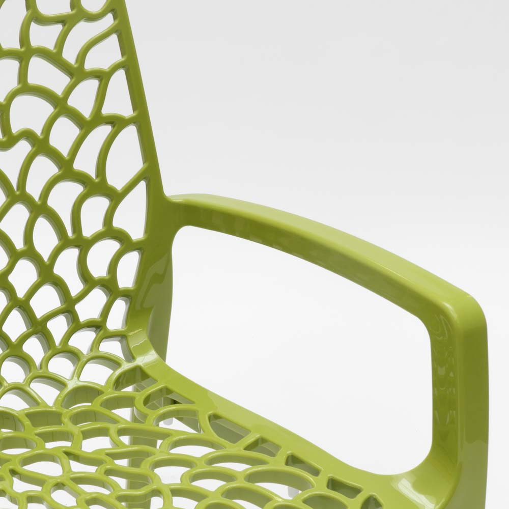 miniatuur 52 - Polypropyleen stoelen armleuningen tuin cafès Grand Soleil Gruvyer Arm