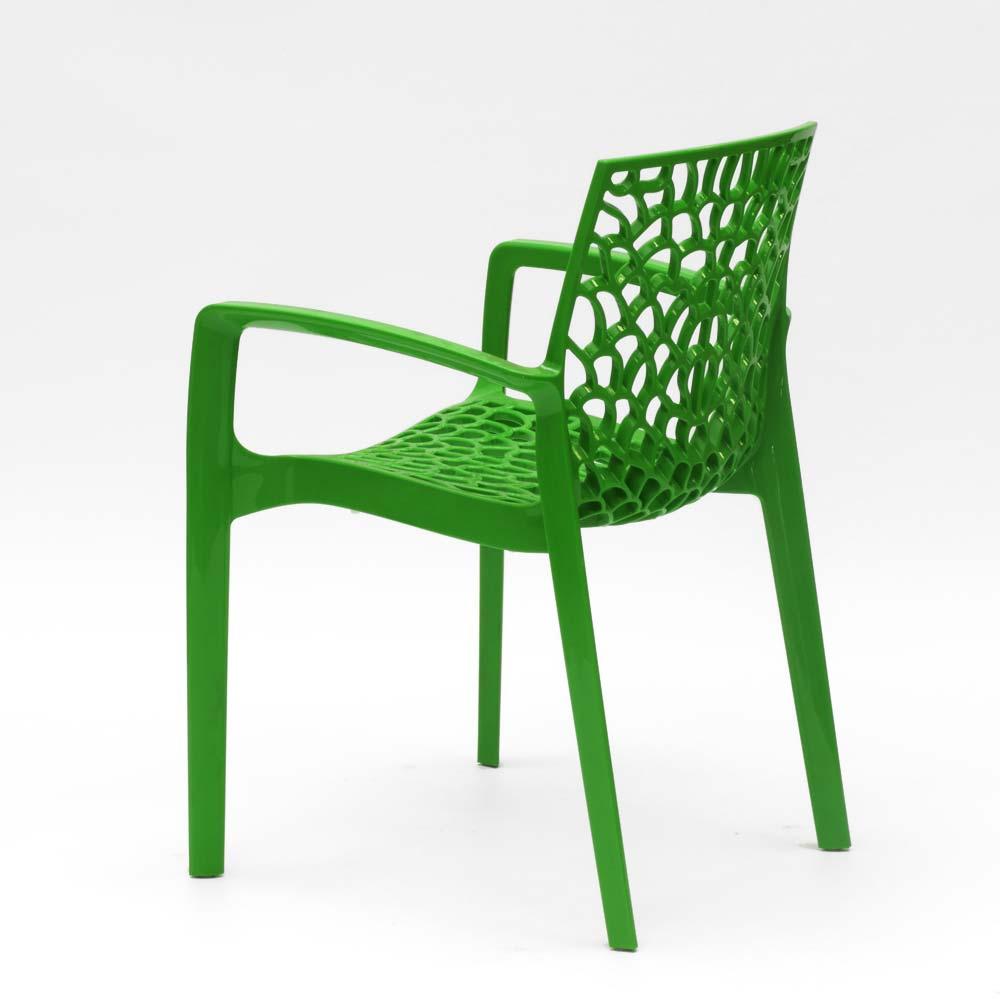 miniatuur 57 - Polypropyleen stoelen armleuningen tuin cafès Grand Soleil Gruvyer Arm