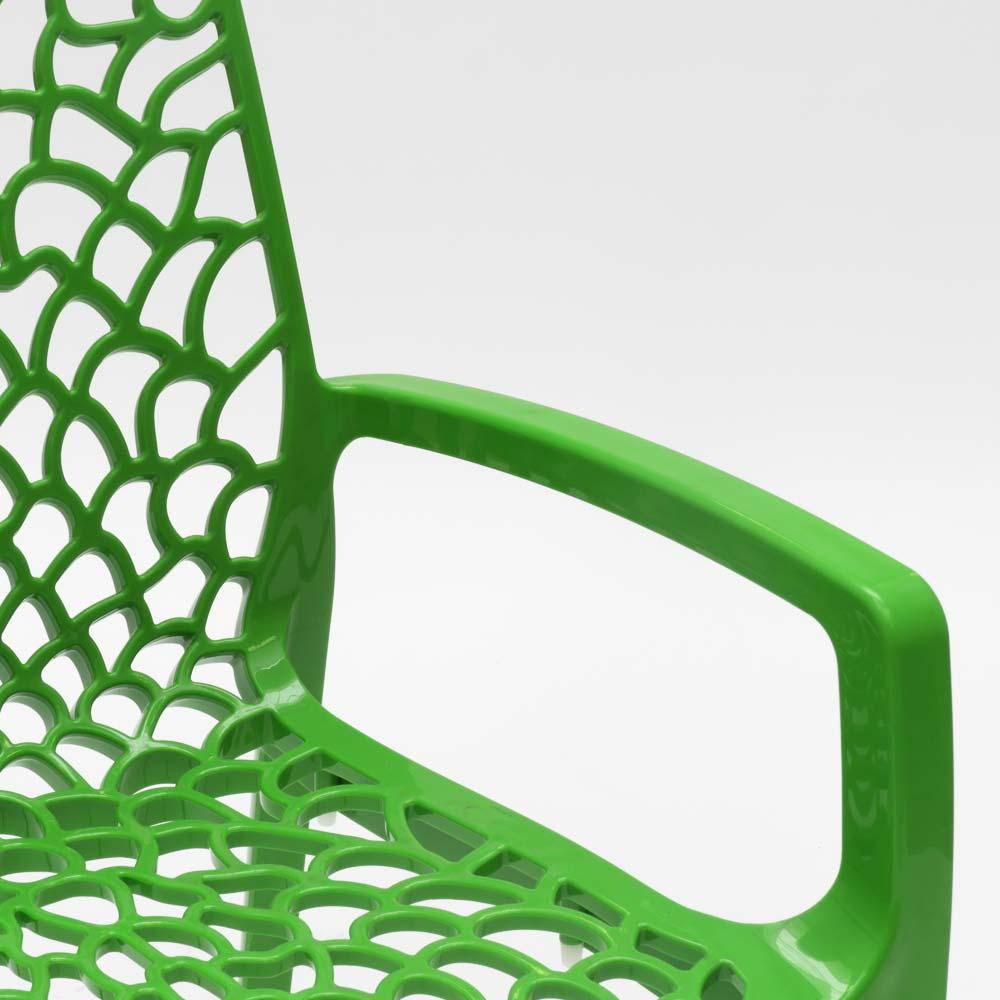 miniatuur 58 - Polypropyleen stoelen armleuningen tuin cafès Grand Soleil Gruvyer Arm